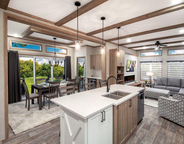 Northlander Escape All Season Park Model | Open Concept Kitchen