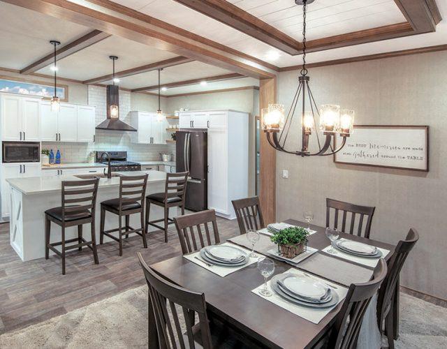 Northlander Escape All Season Park Model | Elegant Dining Room