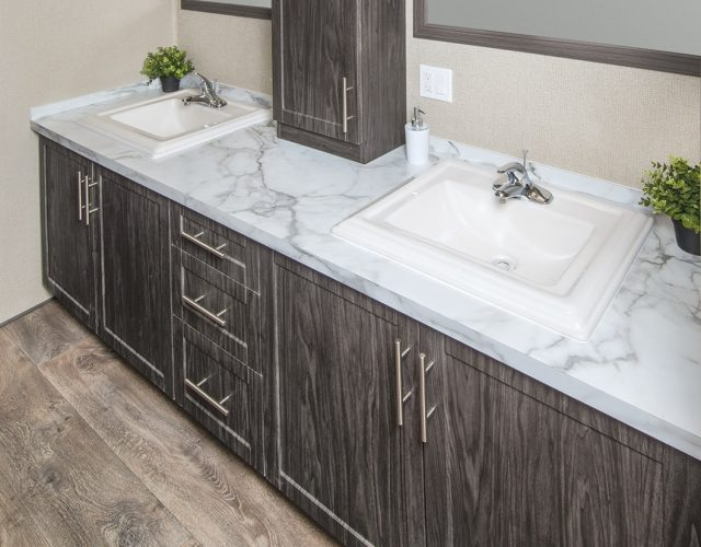 Northlander Escape All Season Park Model | Bathroom Vanity