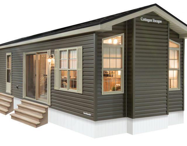 Northlander Escape Park Model Cottage - Exterior