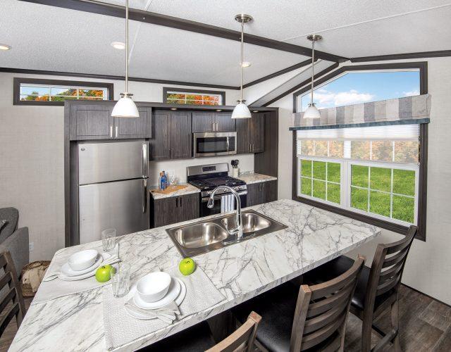 Northlander Escape Park Model Cottage - Kitchen