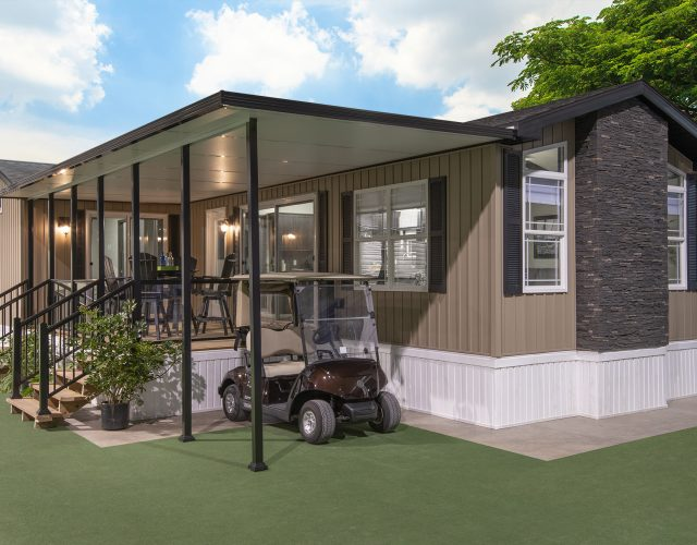Imagine, moving into your very own park model, modular home or manufactured home that is this beautiful!