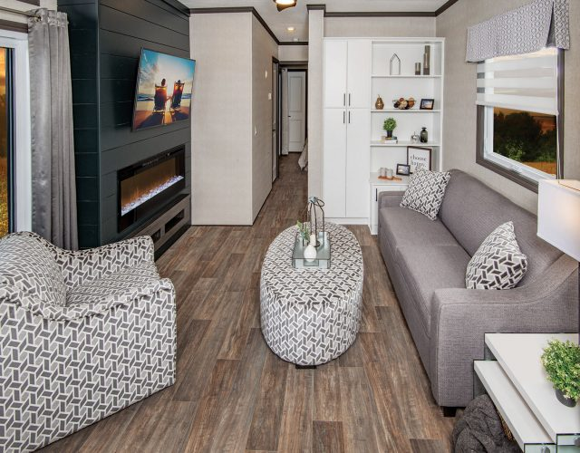 Northlander Luxe Park Model | Living Room