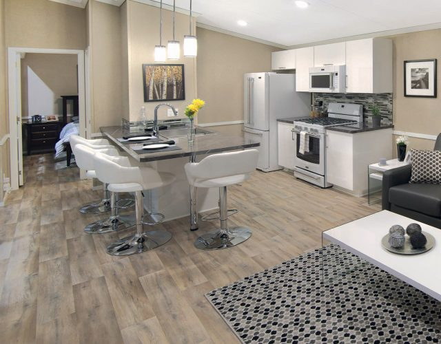 Northlander Luxe Park Model | Open Concept Living Room