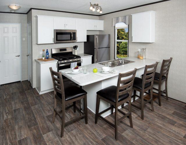 Northlander Reflection Park Model Cottage | Eat-In Kitchen