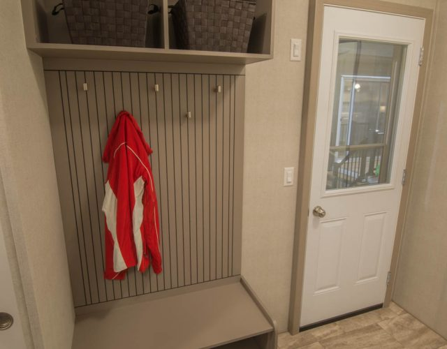 Northlander Industries | Show Gallery Front Entryway Coat Closet & Shoe Rack