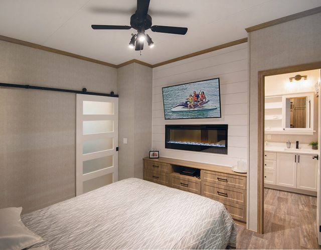 Northlander Escape All Season Park Model | Master Bedroom