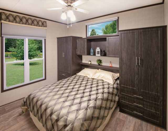 Northlander Escape Park Model | Master Bedroom