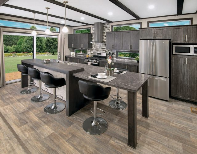Northlander Escape Park Model | Spacious Kitchen with Island