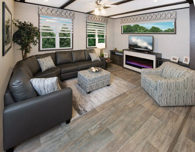 Northlander Escape Park Model | Open Concept Living Room