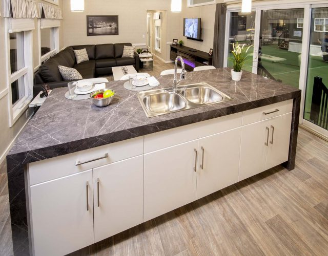 Northlander Luxe Park Model | Huge Kitchen Island