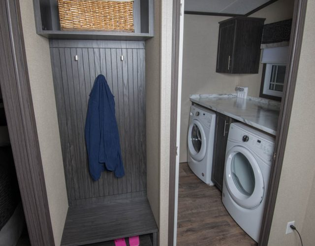 Not only do Northlander products offer ample storage, but you can also have your own laundry room!